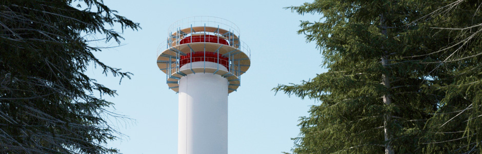 Bauweise x-Tower